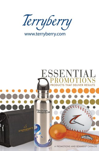 Terryberry Essential Promotions 2010
