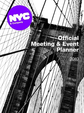 NYC Official Meeting and Event Planner