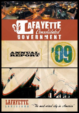 Lafayette Consolidated Government Annual Report 2009