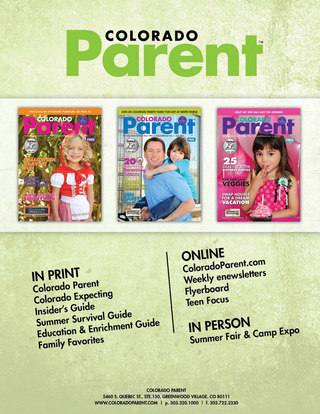 Colorado Parent Media Kit