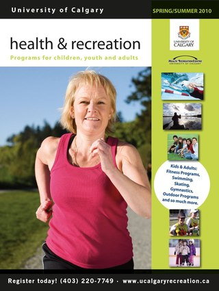 University of Calgary Health and Recreation Guide