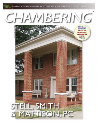 August 2016 CHAMBERING