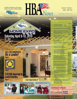 HBA News April May 2010