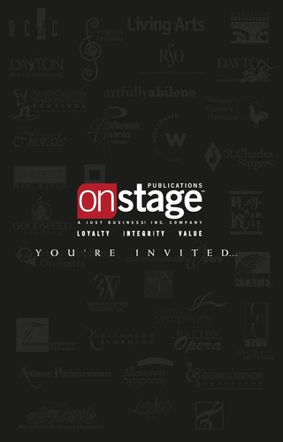 Onstage National Advertising Betsy Gugick Page Turn