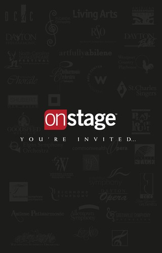 Onstage National Advertising Page Turn