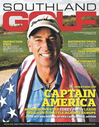 Corey Pavin and the 2010 Ryder Cup