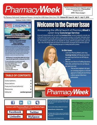 PharmacyWeek, Volume XIX