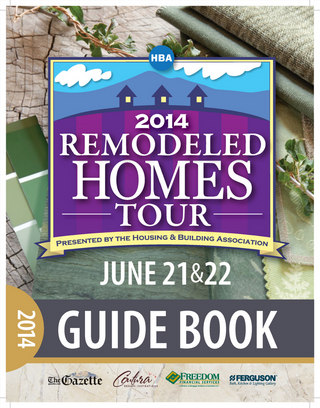 2014 Remodeled Homes Tour