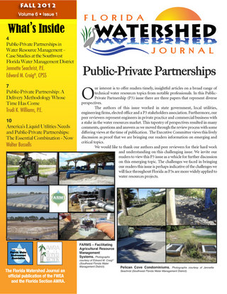 Fall 2012 - Public-Private Partnerships