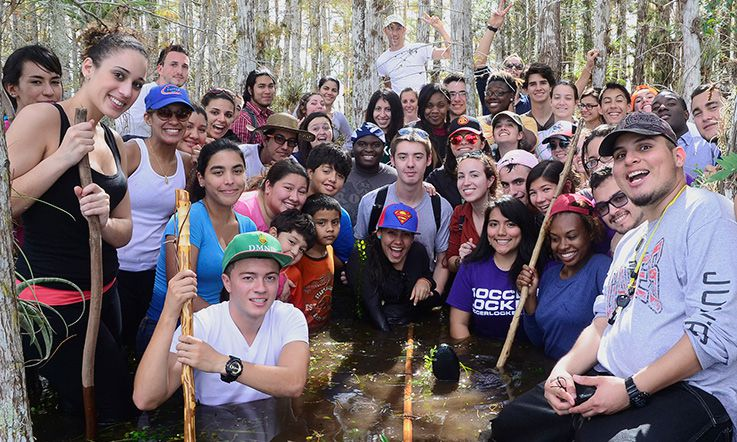 Biology students take part in an ecology field trip to Everglades National Park.  MDC strives to connect its curriculum to meaningful encounters outside the classroom to help students gain interdisciplinary perspectives and become changemakers.