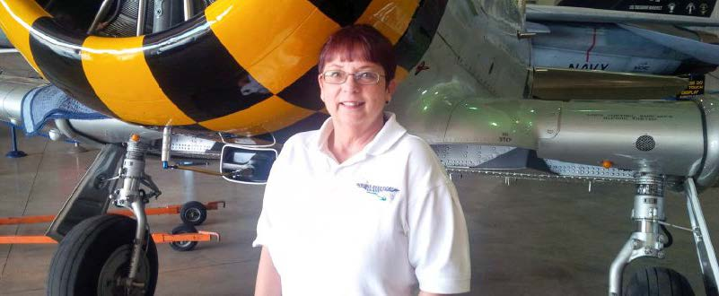 MDC alumna Suzette Rice is the executive director of Wings Over Miami.