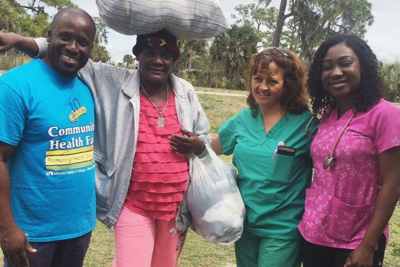 For more than a decade, MDC nursing students have helped people in Immokalee and Belle Glade in Florida, and abroad in Haiti and the Dominican Republic.