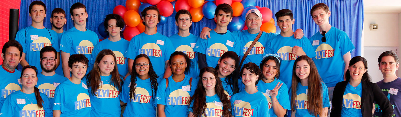 MDC students helped new immigrants acclimate to the U.S. at FLYi Fest.