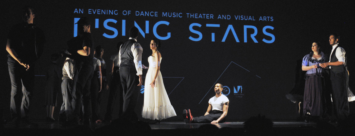 New World School of the Arts' Rising Stars performance showcase featured an evening of music, theater and dance.