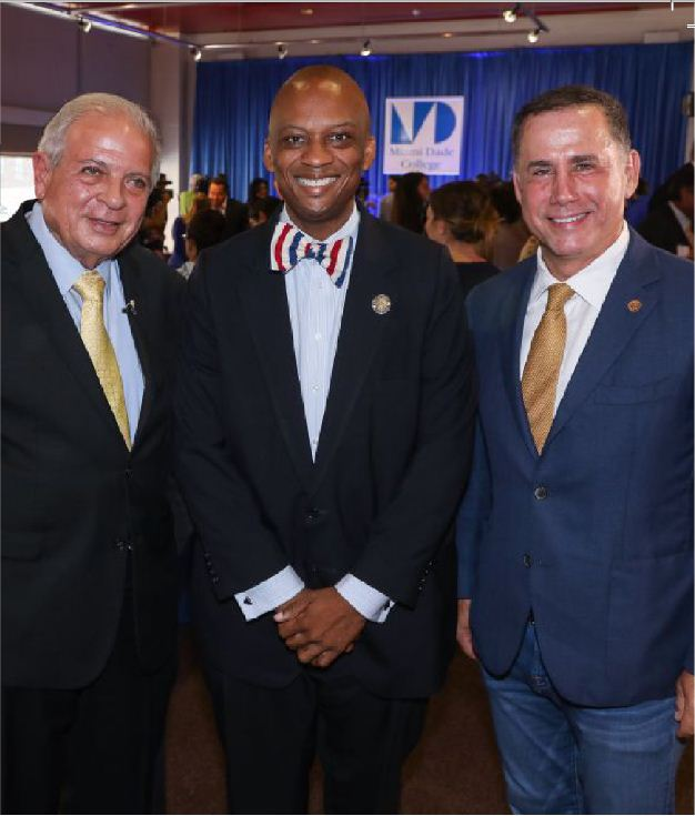 Mayor of Miami Tomás Regalado, Miami Gardens Mayor Oliver Gilbert and former Miami Beach Mayor Philip Levine voiced their support for DACA at MDC.