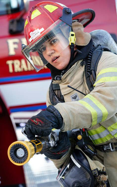 MDC's Fire Fighter program is both physically and mentally challenging, and includes extensive classroom and practical field components.