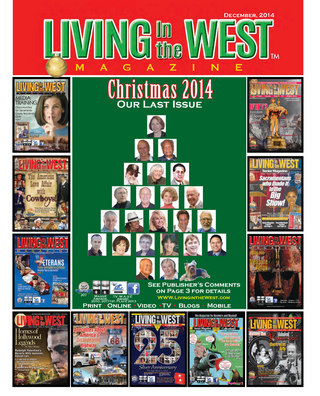 Living West Senior Mag  Dec  2014