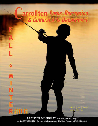 Carrollton Parks, Recreation and Cultural Arts Department Catalog
