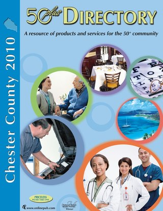 Chester County 50 plus Directory