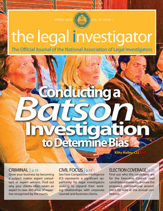 The Legal Investigator,Vol.37, Issue 1 Spring 2012