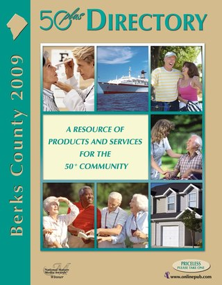 Berks County 50 plus Directory