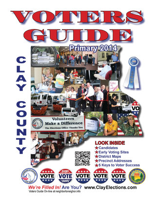 Clay County Voters Guide 2014