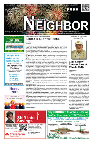 Neighbor to Neighbor newspaper