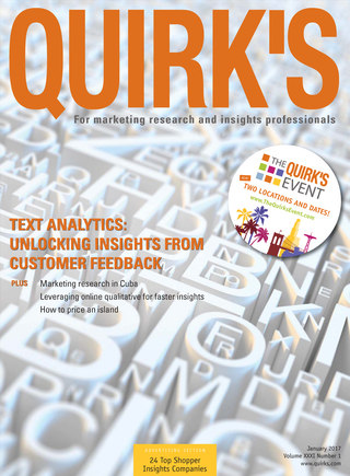 Quirks Marketing Research Review