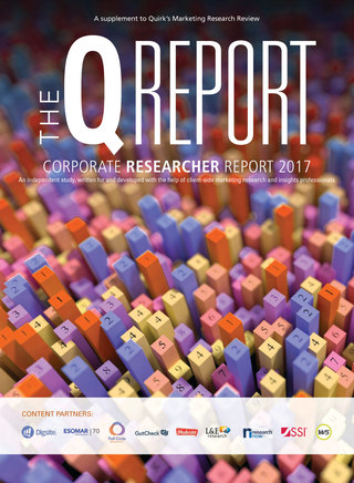 Quirks Marketing Research Review 2017 Corporate Research Report
