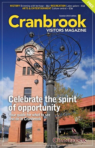 Cranbrook Visitors Magazine