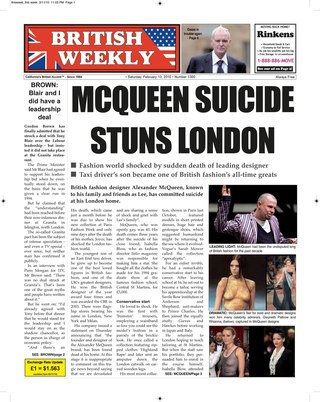 The British Weekly