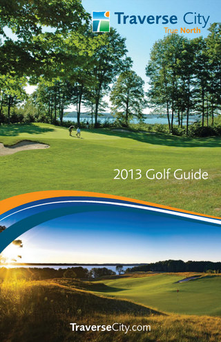 Traverse City Golf Guide 2013