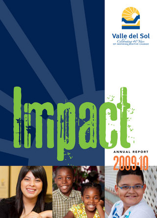 Valle del Sol 2009.2010 Annual Report