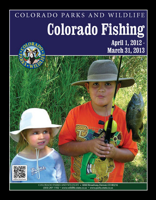 Colorado Fishing Brochure