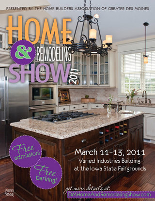Des Moines Home and Remodeling Show Program