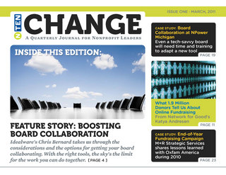 Issue One: March 2011