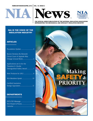 NIA News February/March/April 2012