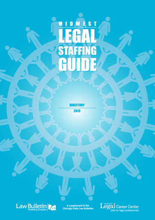 2013 Midwest Legal Staffing Guide