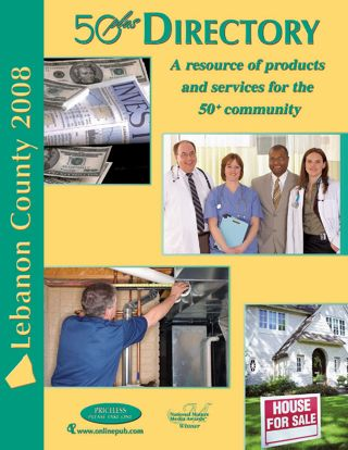 Lebanon County 50 plus Directory