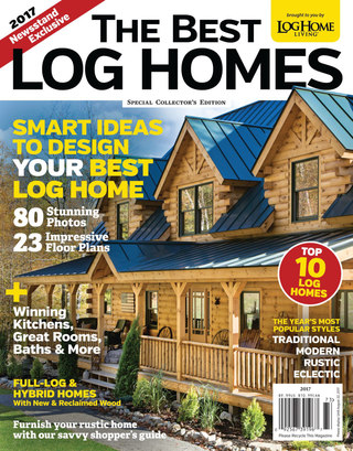 The Best Log Homes 2017