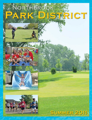 Northbrook Park District Summer Guide
