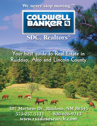 Coldwell Banker Ruidoso Alto and Lincoln County Guide