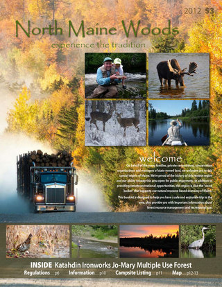 North Maine Woods Brochure