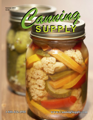 Canning Supply Catalog