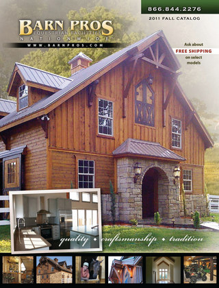 Barn Pros Fall Catalog 2011