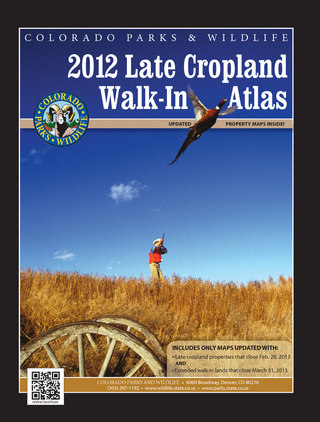Colorado Late Cropland Walkin Atlas