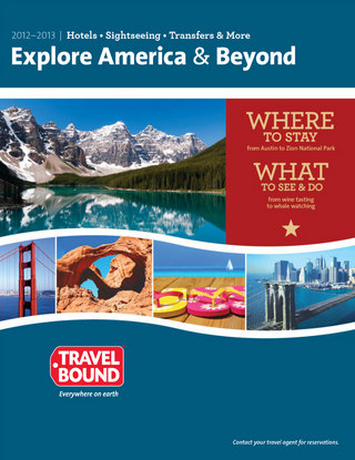 Travel Bound Brochure