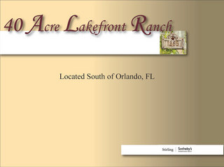 40 Acre Lakefront Country Estate