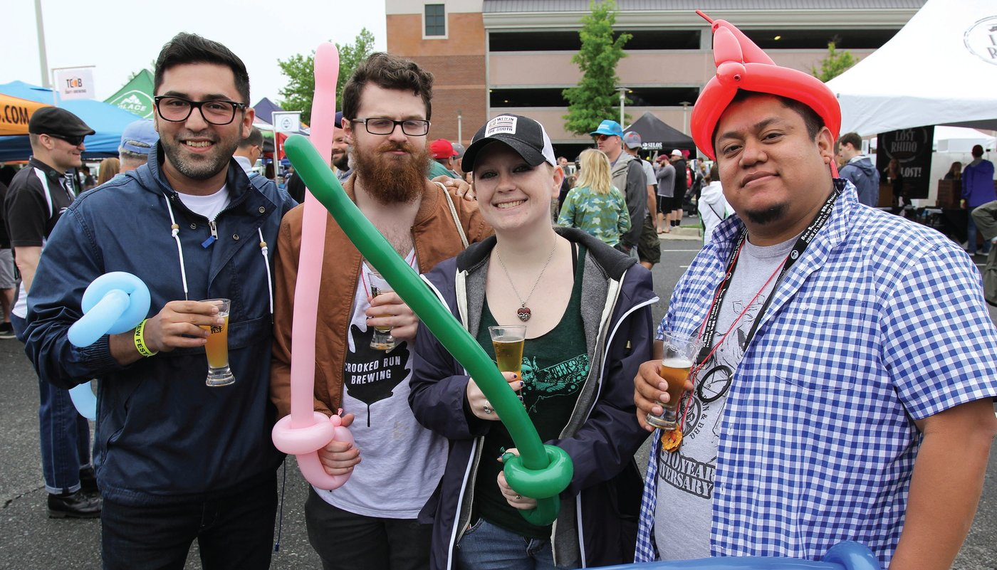BREW CREW. Brambleton Community Association's annual Brewfest draws about 2,000 attendees, who can enjoy samples from more than 30 local breweries, food trucks, and music. The event brings in some extra revenue and strengthens the Brambleton brand.