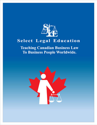 Select Legal Education Brochure